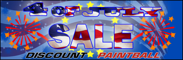 Our 4th of July Paintball Sale is going on now