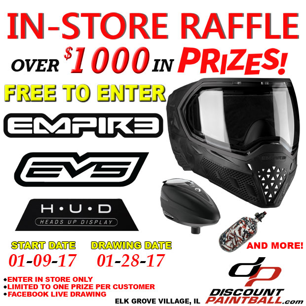 In Store Giveaway Empire EVS Hud Mask