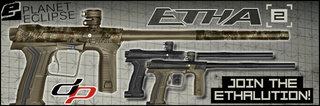 Planet Eclipse Etha 2 paintball marker