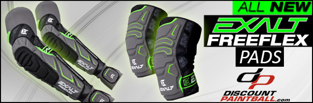Exalt elbow and knee pads
