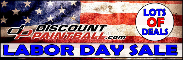 Labor Day Paintball Sale
