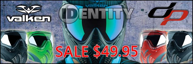 Lower price on the Valken Identity mask