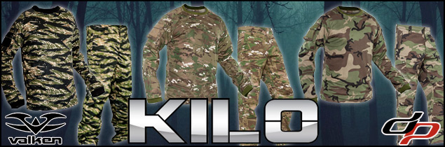Valken Kilo camo pants and shirts in stock