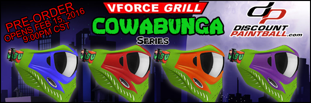 VForce Grill Cowabunga Pre-Order soon