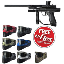 Empire Resurrection Autococker Paintball Gun Black Dust w/ FREE E-Flex