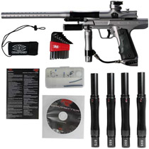 Empire Resurrection Autococker Paintball Gun Grey Dust *Demo*