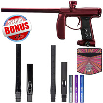Empire Axe Paintball Gun - Red Dust/ Red Polished with Free Empire Super Freak Jr Barrel 14 Inch