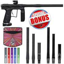 Empire Axe Pro 2015 Paintball Gun Dust Black/Grey with FREE Empire Super Freak Barrel Kit