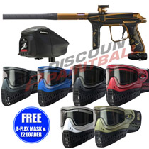 Empire Vanquish V 1.5 Paintball Gun Filthy Rich with FREE E-Flex Mask and Z2 Loader