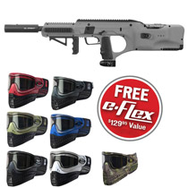 Empire BT DFender Paintball Marker Grey w/ FREE E-Flex