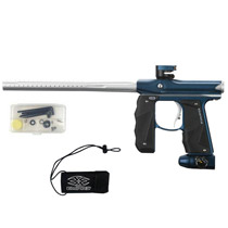 Empire Mini GS Paintball Marker Blue/ Silver Dust *Demo*