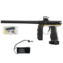 Empire Mini GS Paintball Gun Black/ Silver/ Yellow Dust *Demo*