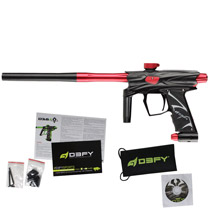 D3FY Sports D3S Paintball Gun Black Red With Tadao Board