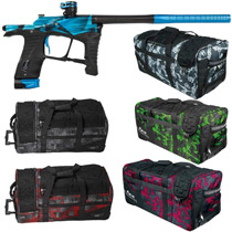 Planet Eclipse Ego LV1 Paintball Gun Distortion Ice w/ Classic Gear Bag