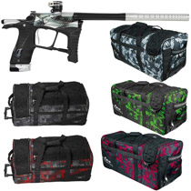 Planet Eclipse Ego LV1 Paintball Gun Distortion Pure w/ Classic Gear Bag