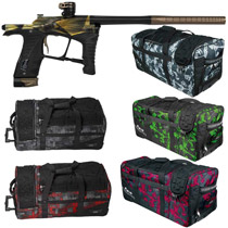 Planet Eclipse Ego LV1 Paintball Gun Distortion Regal w/ Classic Gear Bag