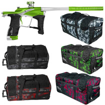 Planet Eclipse Ego LV1 Paintball Gun Kryptonice w/ Classic Gear Bag