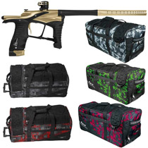Planet Eclipse Ego LV1 Paintball Gun Rose Gold Black w/ Classic Gear Bag