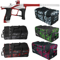 Planet Eclipse Ego LV1 Paintball Gun Vamped w/ Classic Gear Bag