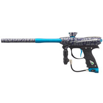 2015 Proto Reflex Rail Paintball Gun - PGA Skinned-Cyan