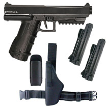 Tiberius Arms T 8.1 Paintball Pistol Players Pack Left Holster