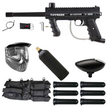 Tippmann 98 Custom Platinum Series Ultra Basic Paintball Starter Package