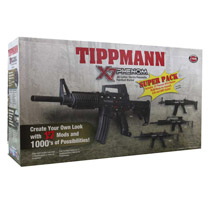 Tippmann X7 Phenom Super Pack Electronic Paintball Gun