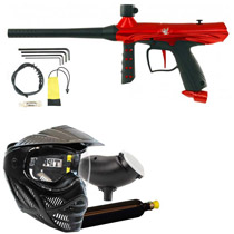Tippmann Gryphon Paintball Marker Power Pack Red