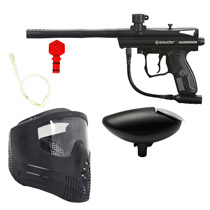 Spyder Aggressor Paintball Marker Refurbished Kit Black