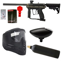 Spyder MR100 Paintball Marker Refurbished Package Olive