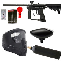Spyder MR100 Paintball Marker Refurbished Package Black