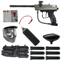 Spyder Victor Paintball Starter Package Olive Green