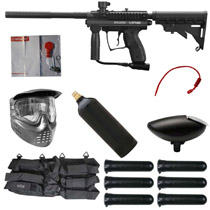 Spyder MR100 Pro Paintball Starter Package Diamond Black