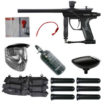 Spyder Fenix Paintball Rookie Package Diamond Black