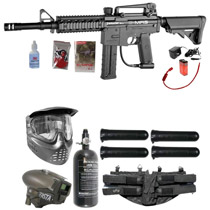 Spyder E-MR5 Paintball Rookie LCD Package Diamond Black
