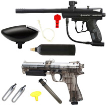 Spyder Aggressor Paintball Marker and JT ER2 Pistol Kit Refurbished