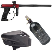 Planet Eclipse Etha Paintball Marker Package - Red