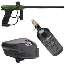 Planet Eclipse Etha Paintball Marker Package - Green