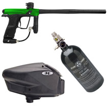 Planet Eclipse Etha Paintball Marker Package - Bright Green/Black