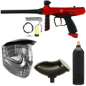 Tippmann Gryphon Paintball Marker Package - Red