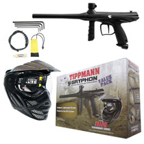 Tippmann Gryphon Paintball Value Pack - Black