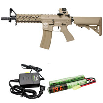 G&G ARMAMENT CM16 Raider-DST Airsoft Rifle Combo