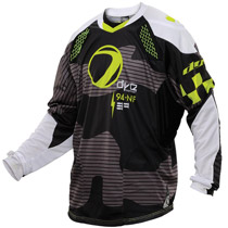 Dye C14 Paintball Jersey 2014 Bomber Black Lime