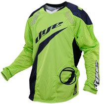 Dye C14 Paintball Jersey 2014 Ace Lime Navy