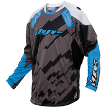 Dye C14 Paintball Jersey 2014 Airstrike Grey Blue