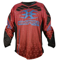 Empire 2016 Prevail F6 Paintball Jersey Red