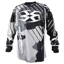 Empire 2016 Contact Zero F6 Paintball Jersey Black/White