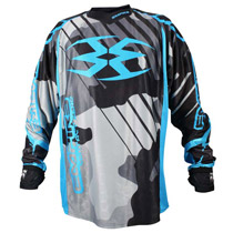 Empire 2016 Contact Zero F6 Paintball Jersey Grey/Blue