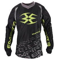 Empire 2015 Contact F5 Paintball Jersey Black/Lime
