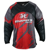 Empire 2015 Prevail F5 Paintball Jersey Red